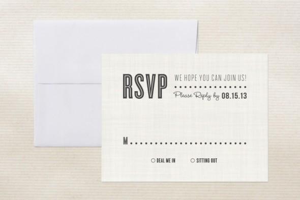 Unique Rsvp Card Wording On Rustic Wedding Chic