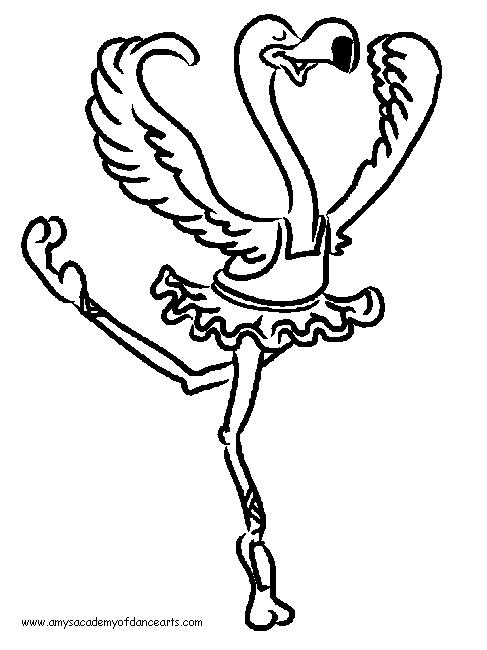 Dancing Coloring Page