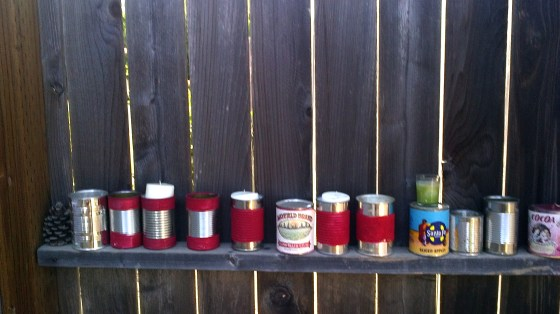 Row of Cans- amy+mayd