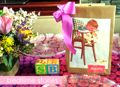bedtime stories- amy+mayd