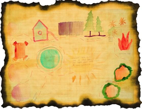 Toddler Treasure Map