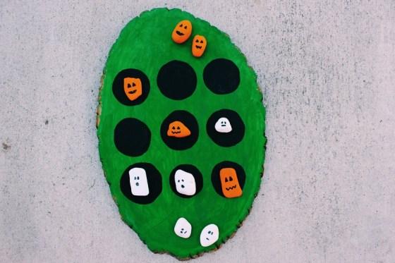 Halloween crafts for kids, Tic Tac Toe