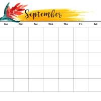 Get the Free September Calendar
