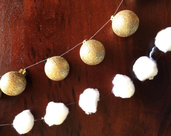 Using simple materials, create layered garlands this Christmas with this DIY garland tutorial