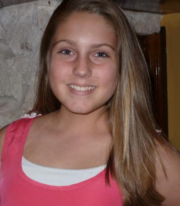Abby Alonzo, who developed Hodkin's lymphoma at age 10
