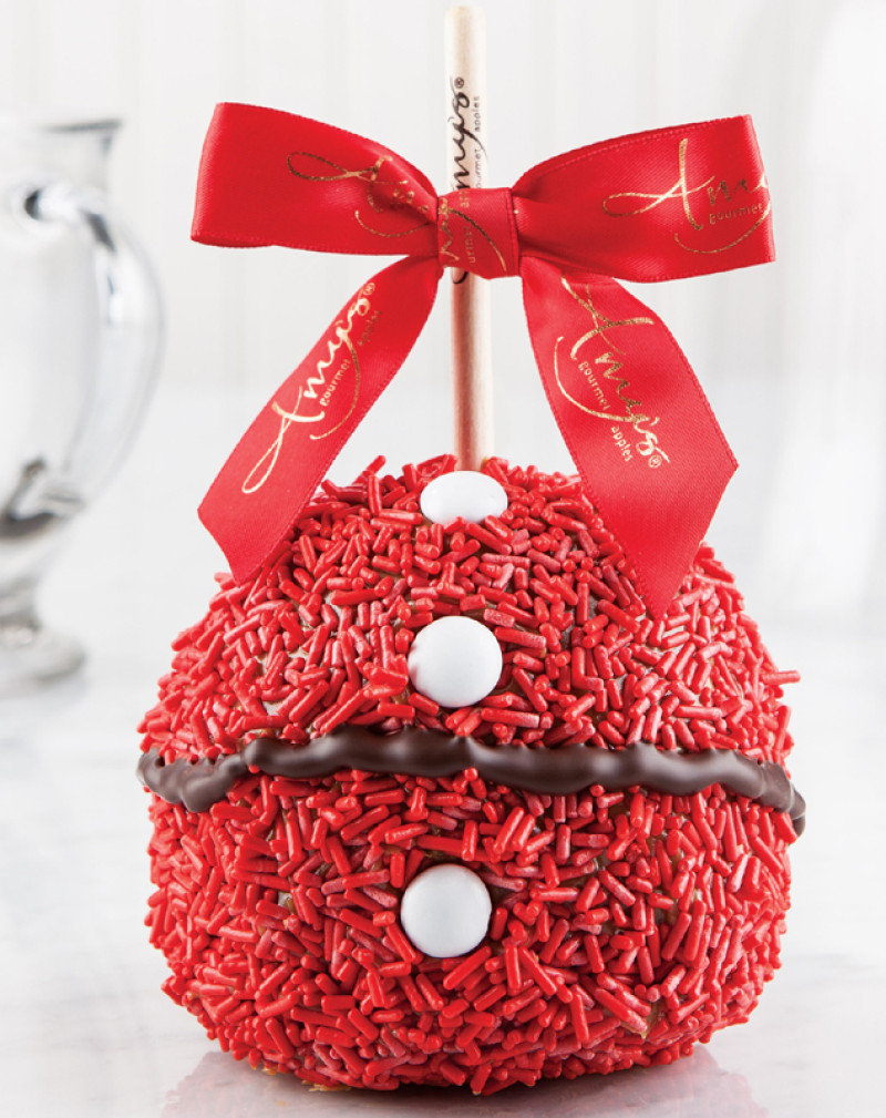 Chocolate Covered Apples Christmas