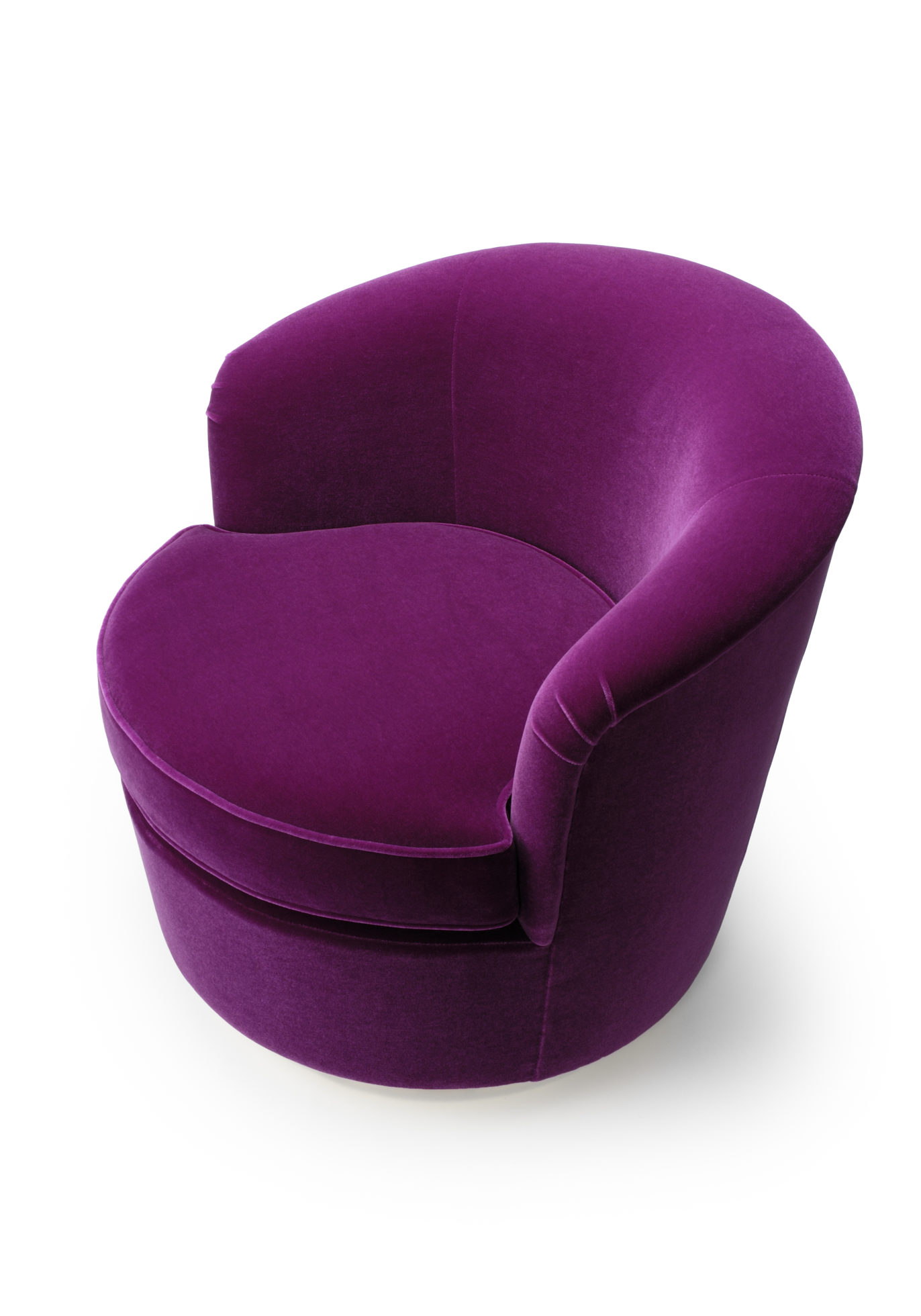 purple swivel chair folding tables and chairs for sale floradora amy somerville london image of