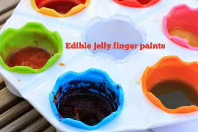 jelly finger paints