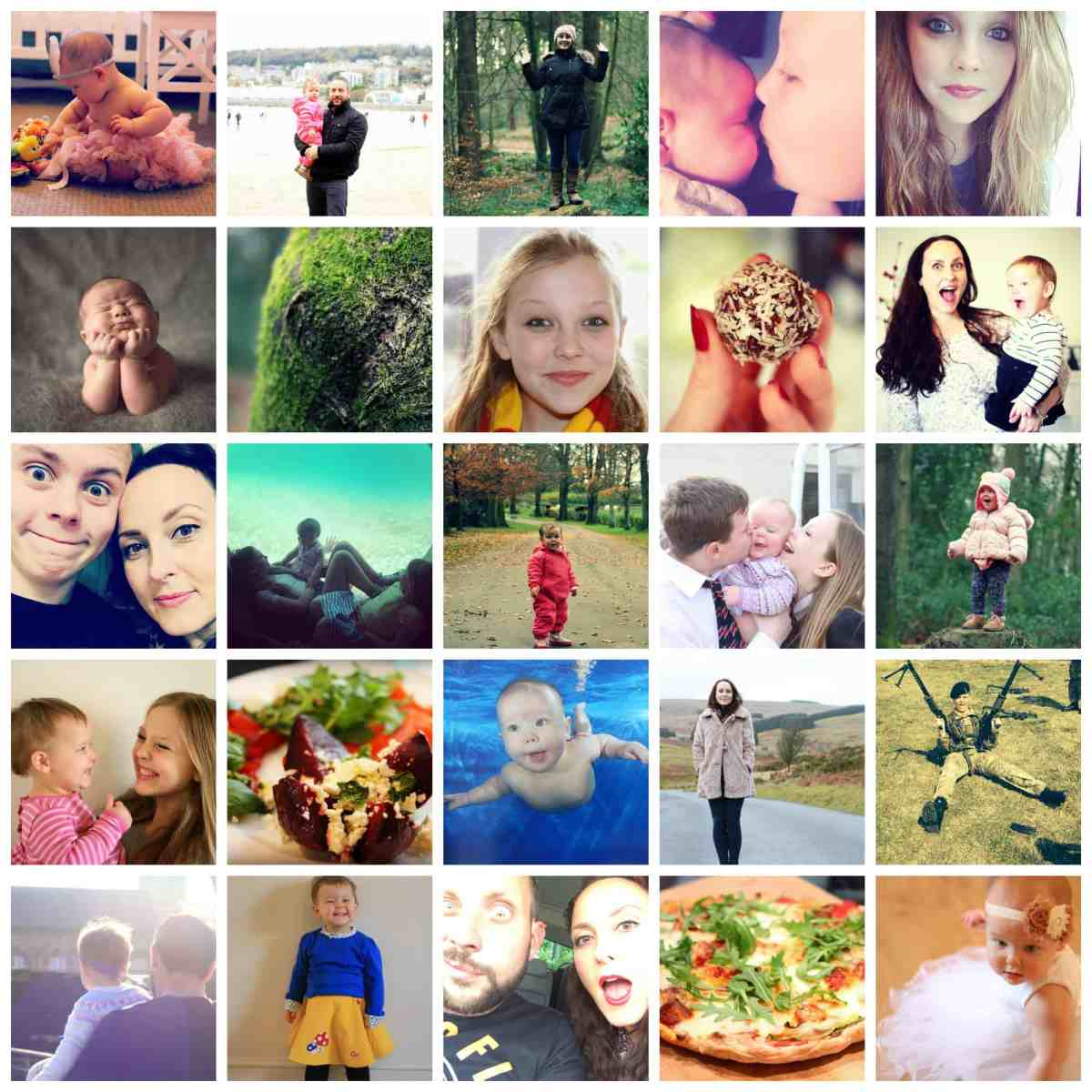about us collage