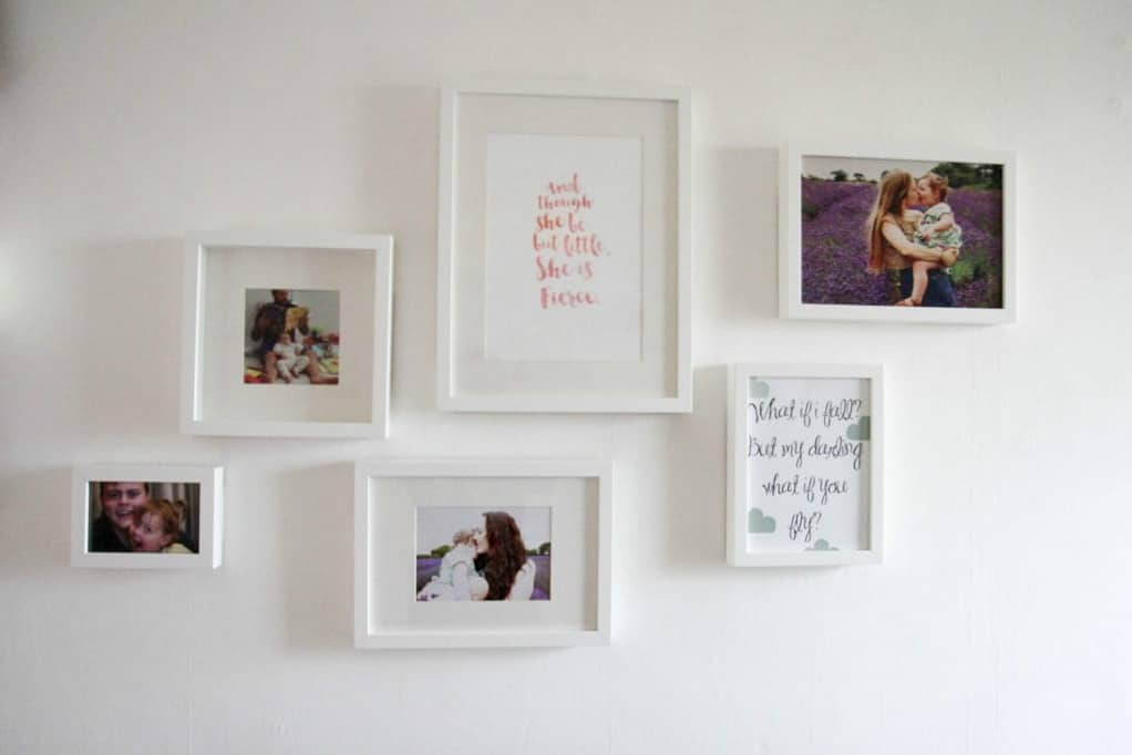 RIBA white picture frames from Ikea