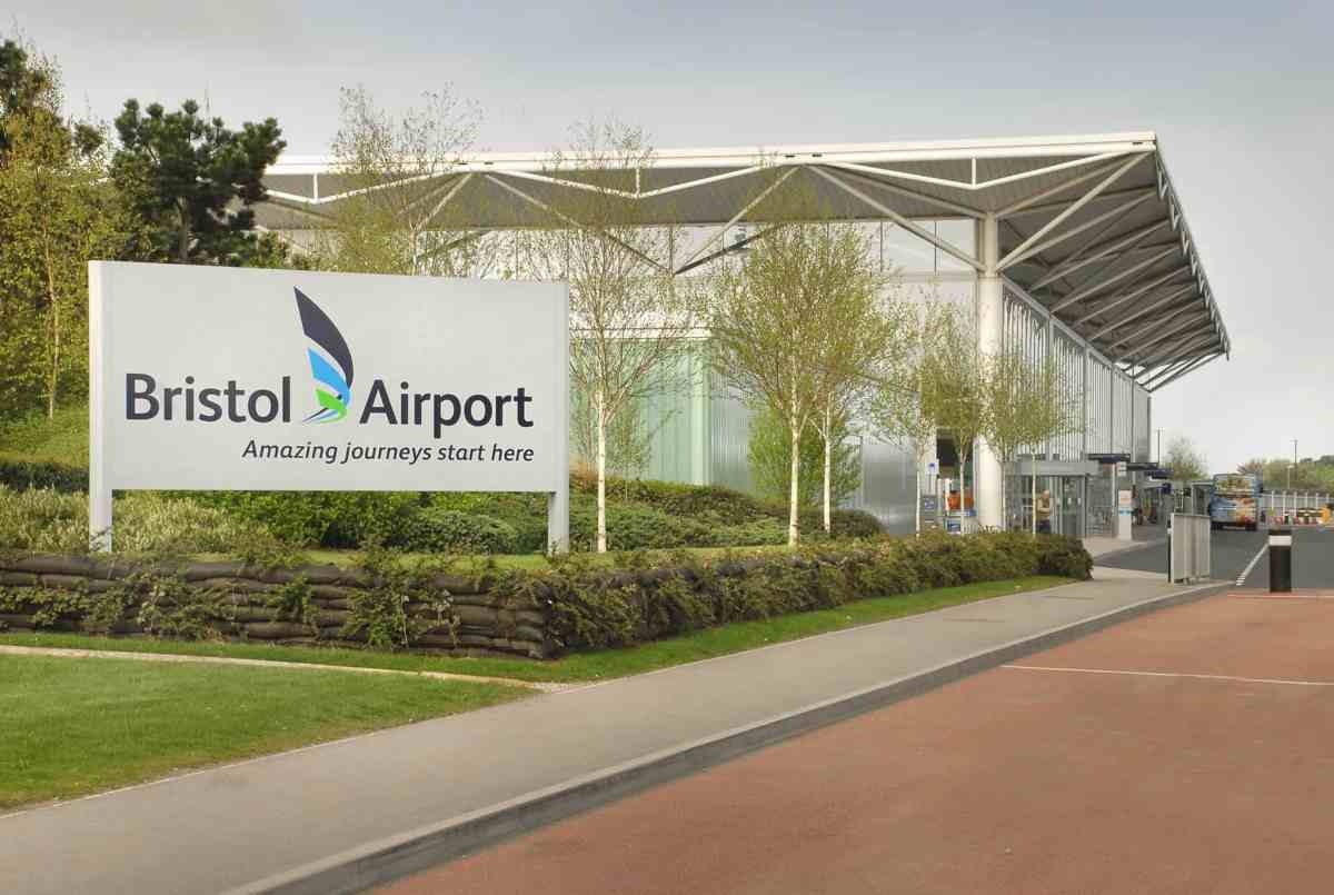 Bristol airport terminal