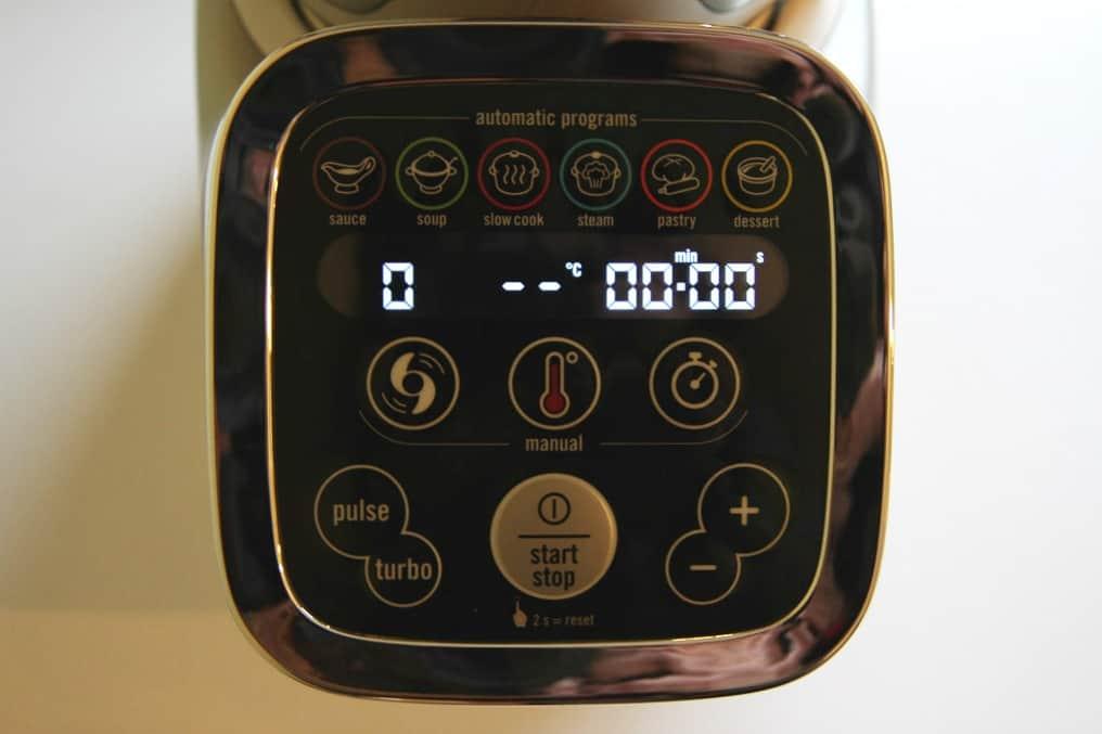 Tefal Cuisine Companion digital control panel