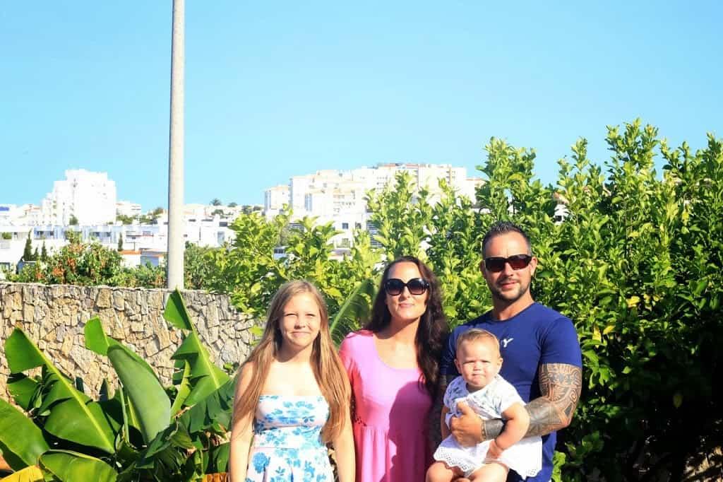 Family shot in Portugal