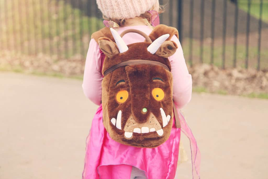 Kid's Gruffalo backpack from LittleLife giveaway