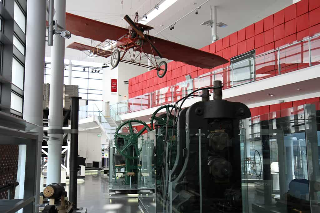 The National Waterfront Museum exhibit