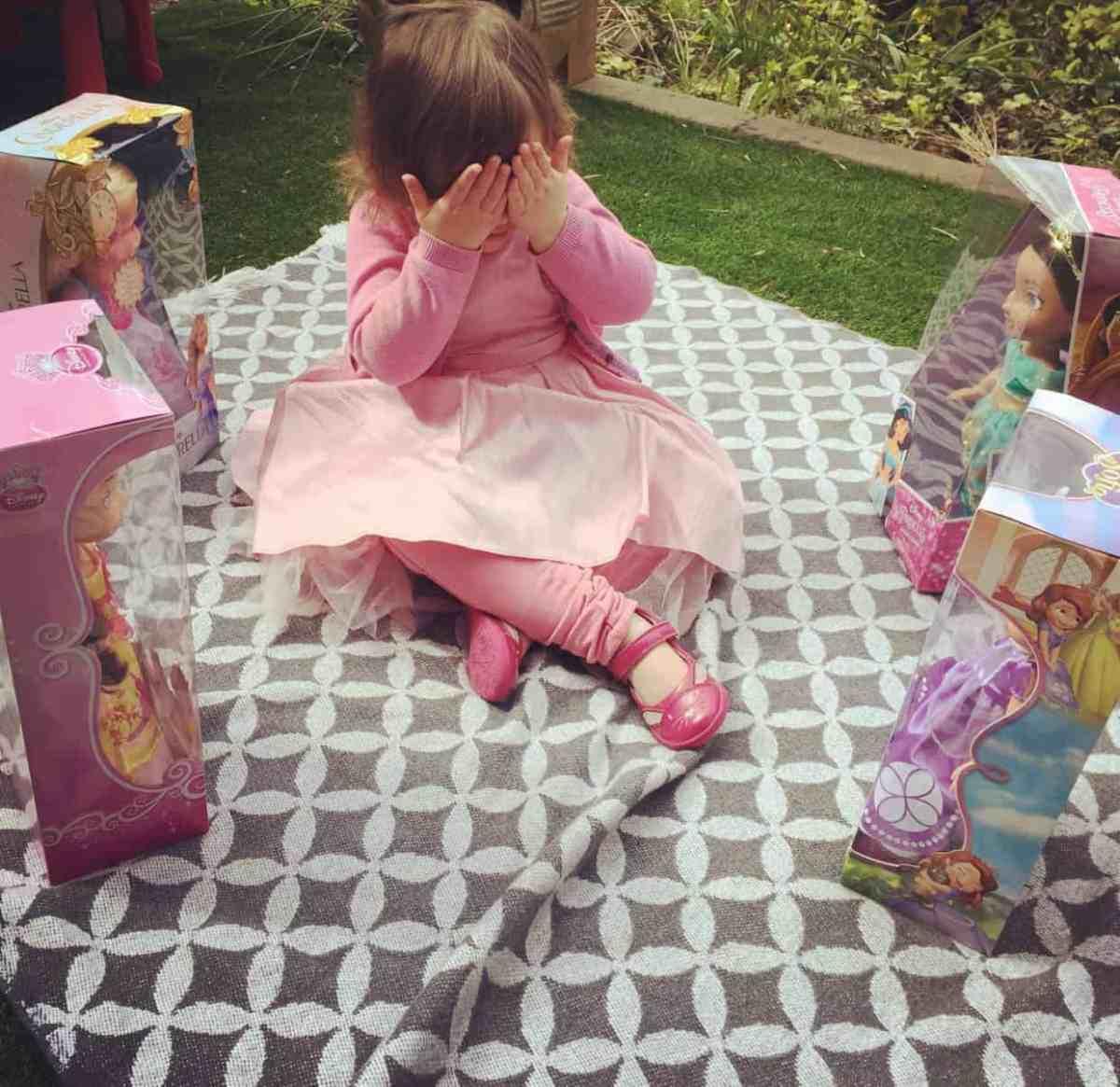Disney Toddler Dolls unboxing