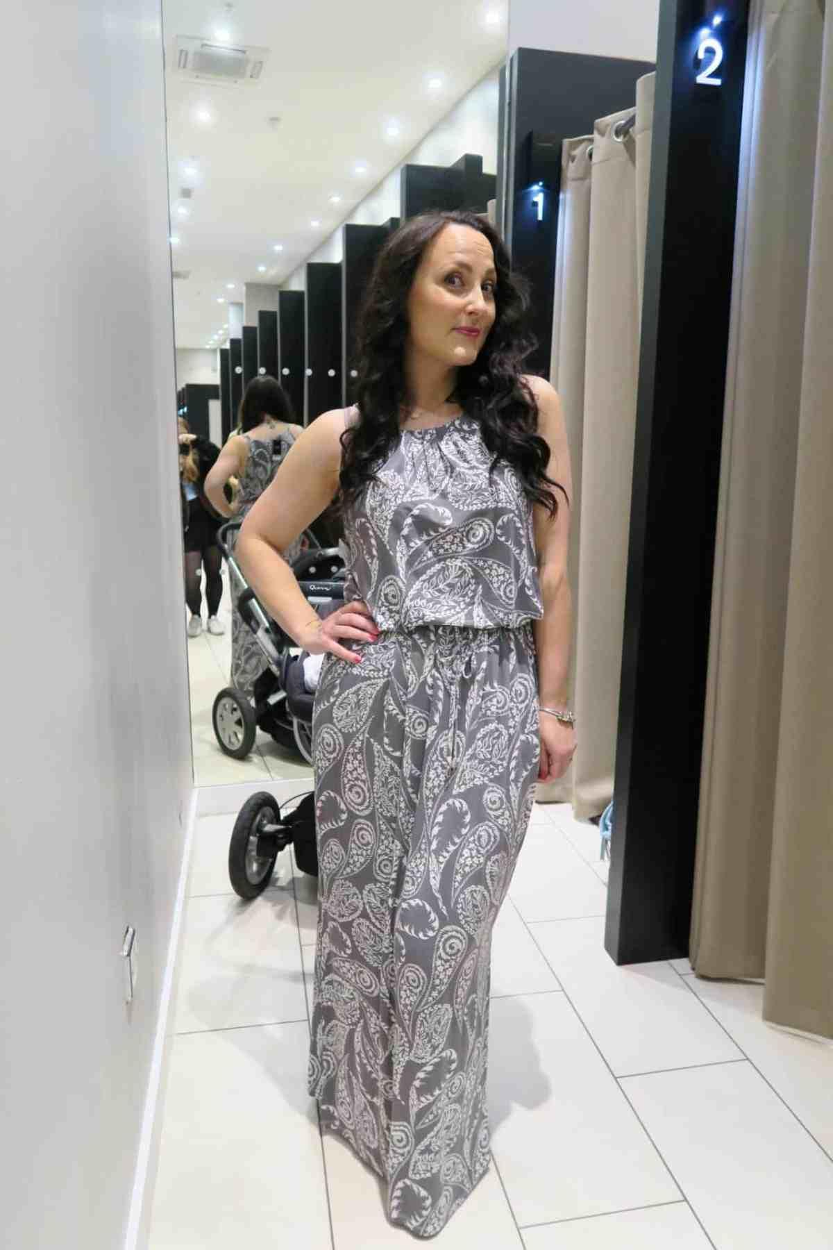 Long maxi dress from next