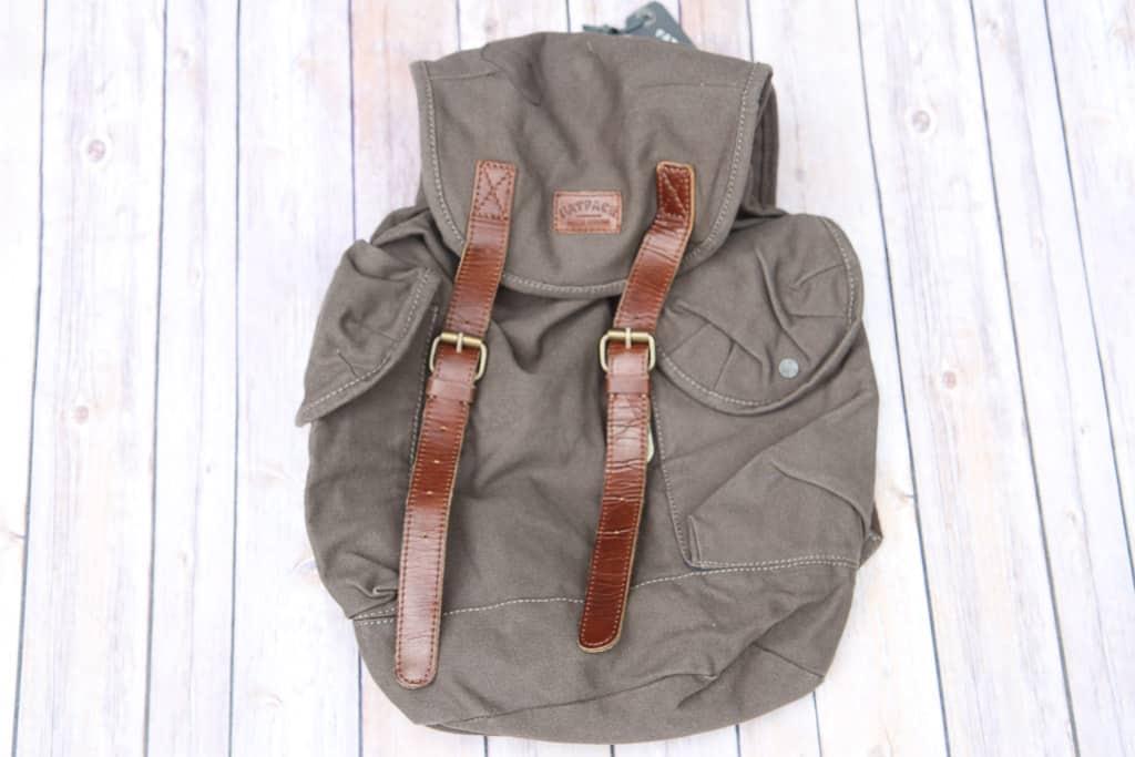 Eddie canvas rucksack from FatFace