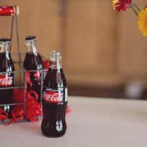 Coca-Cola Zero Sugar in crate