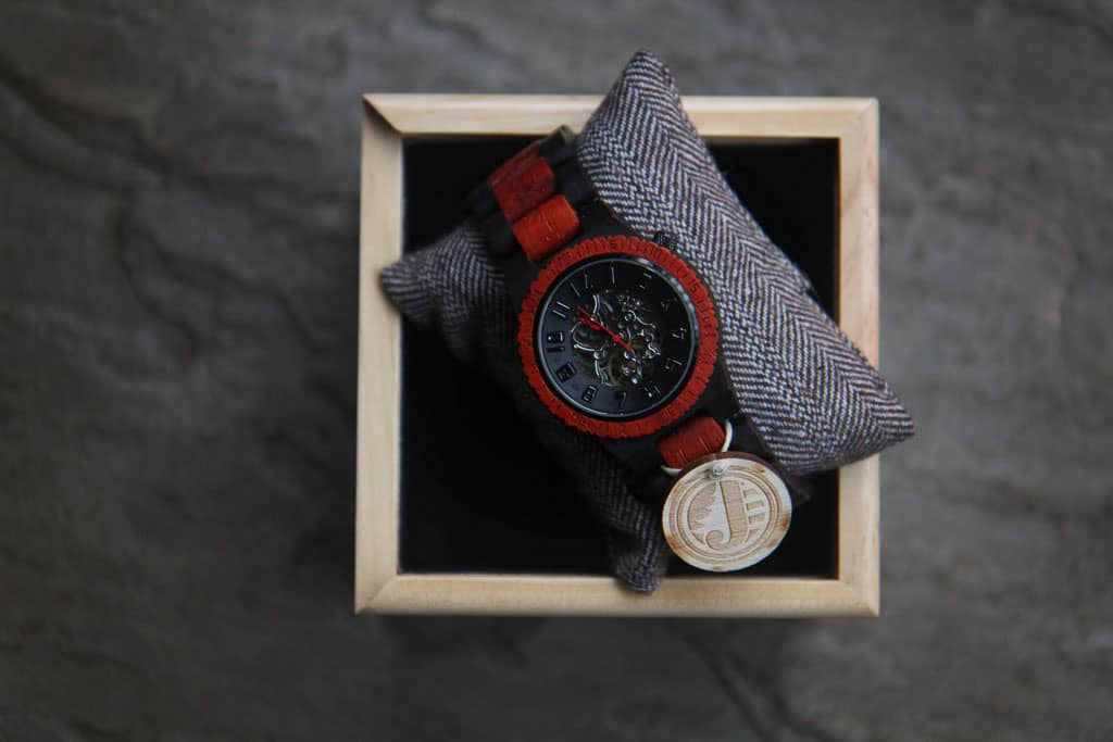 Lord wood watch in gift box