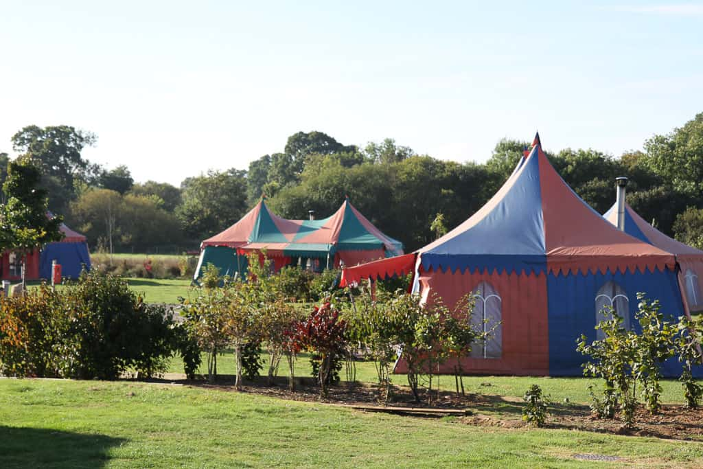 Circus tents Crealy