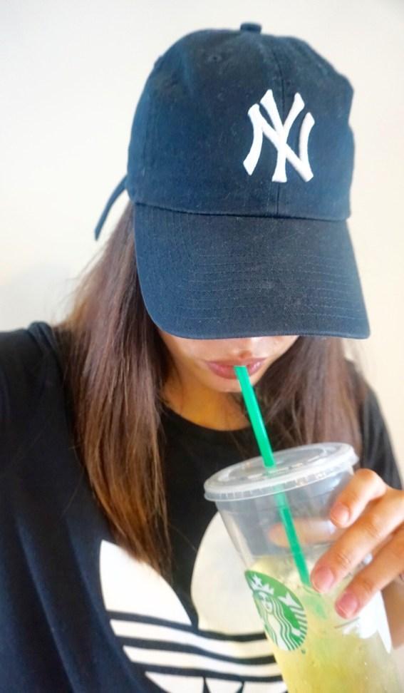 #FitnessFriday Starbucks Green Tea