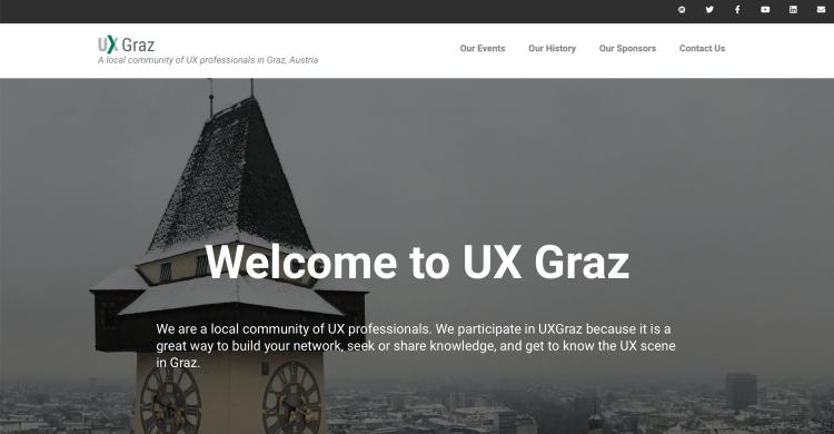 UX Graz Website