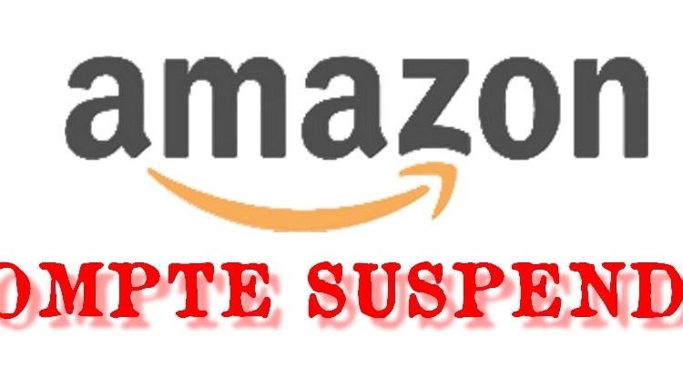 compte amazon suspendu
