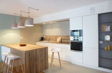 Modern and Contemporary Kitchen Cabinets Design Ideas 28