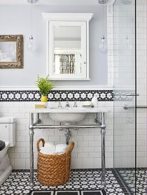Vintage and Classic Bathroom Tile Design 26