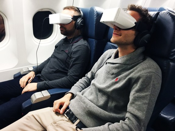 In-Flight Virtual Reality