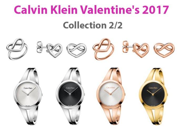 Calvin Klein Valentine's 2017 Collection 2/2 ให้กับความรักทุกสัมผัส