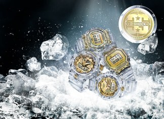Casio G-Shock Glacier Gold