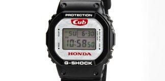 Honda Super Cub x G-Shock