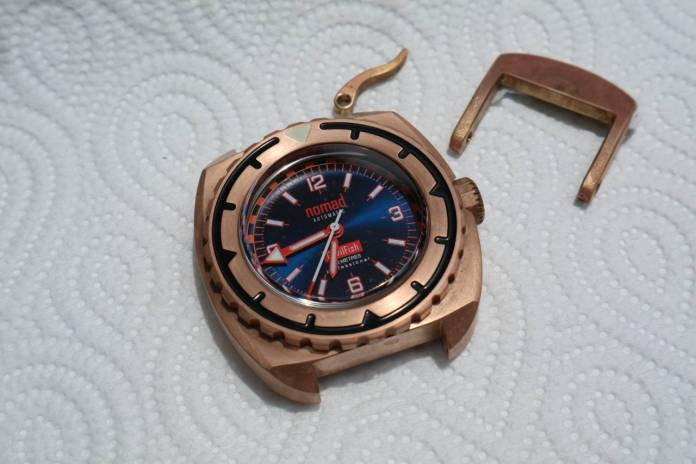 Bronze watch patina cleaning 6