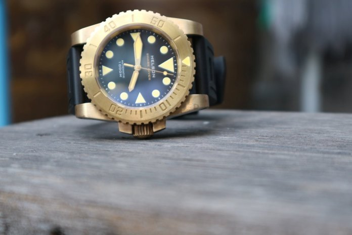 Helson Shark Diver Brass 45 6