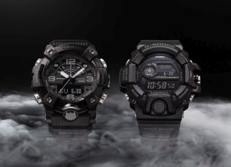Casio G-Shock Black Out Series
