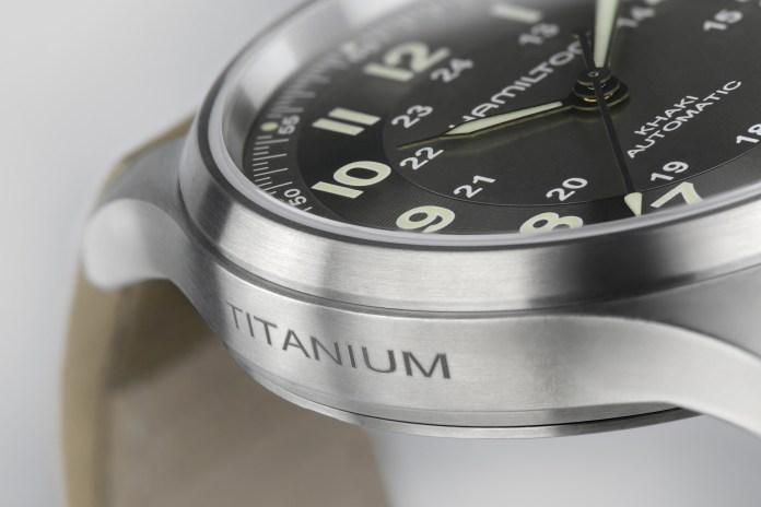 Hamilton Khaki Field Titanium