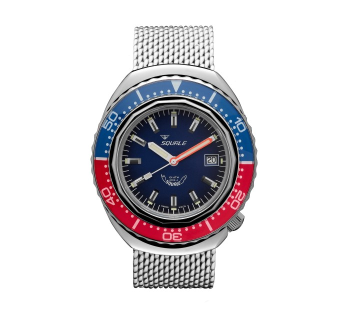Squale 2002-A Blue-Red