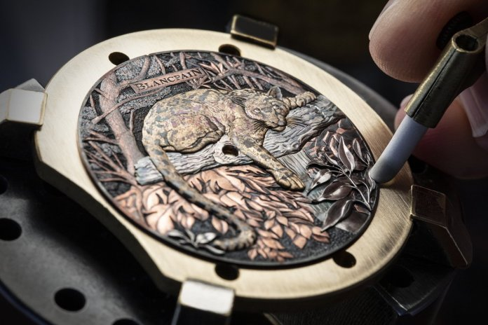 Behind the scene Blancpain Formosa clouded leopard 5