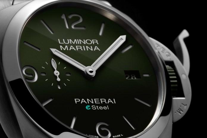 Panerai Luminor Marina e-Steel Collection