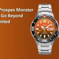 Seiko Prospex Monster KMITL Go Beyond the Limited รุ่นพิเศษจำกัดแค่ 1,000 เรือน