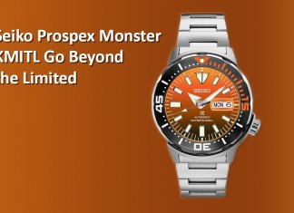 Seiko Prospex Monster KMITL Go Beyond