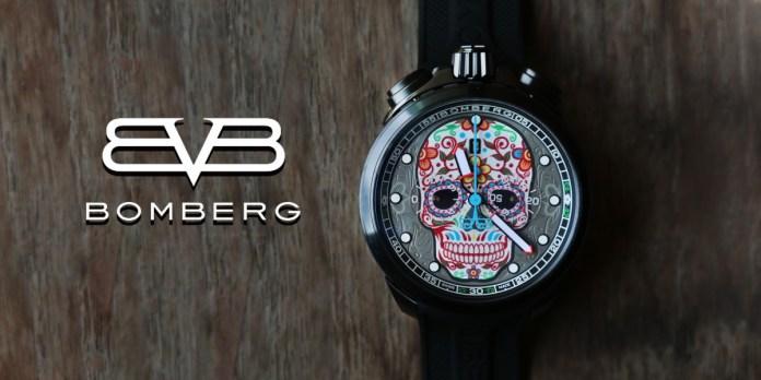 Bomberg Bolt-68 Heritage Sugar Skull Pink Limited