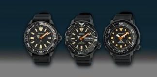 Seiko Prospex Black Series 2021