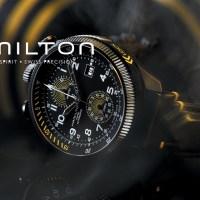 Hamilton Khaki Aviation Takeoff Automatic Chronograph ร่วมเป็นส่วนหนึ่งของการทำสถิติโลก