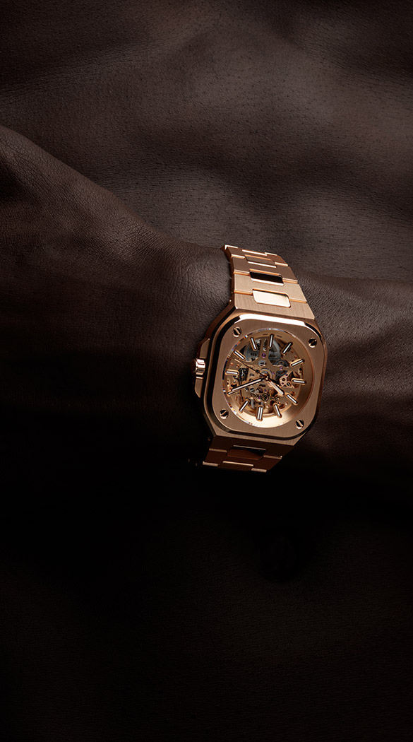 Bell and Ross BR 05 Skeleton Gold