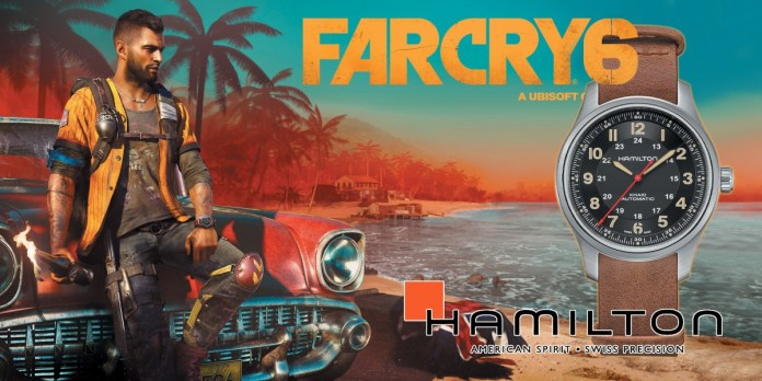 Hamilton KHAKI FIELD TITANIUM AUTOMATIC Far Cry 6
