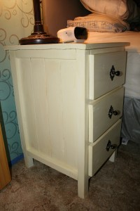 Ana White   Wood look bedside table - DIY Projects