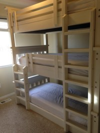 Ana White | Simple Bunk Bed Triple Bunk - DIY Projects